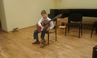 Galeria Występ uczniów klasy gitary