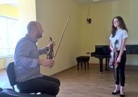 Galeria Warsztaty skrzypcowe