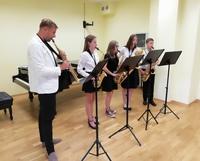 Galeria popis klasy saksofonu