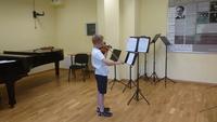 Galeria II popis klasy skrzypiec