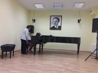 Galeria muzyczna wizyta fortepian
