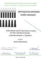 Galeria Zwycięstwo chóru Cantores Minores