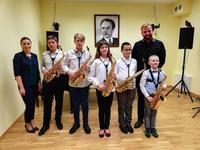 Galeria popis saksofon