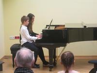 Galeria popis klasy fortepianu